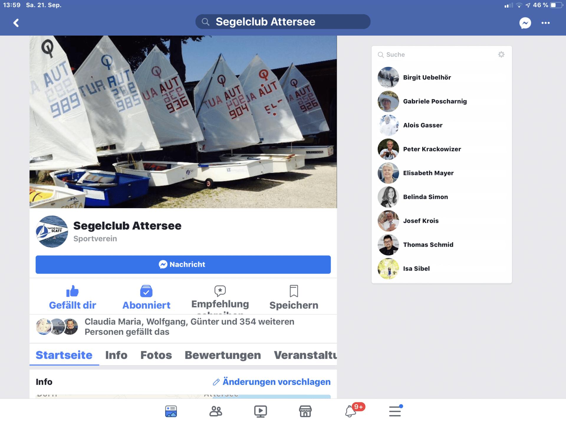 SCATT auf Facebook